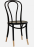 http://www.thonet.com.au/wp-content/uploads/2012/03/No18_Thonet4_customblksocks_MI1.png#No.18 Thonet with custom paint finish and Natural sock detail