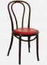 http://www.thonet.com.au/wp-content/uploads/2012/03/No18_Thonet5_darkoakupholseat_studs_MI1.png#No.18 Thonet with Dark Oak finish and upholstered seat with stud detail